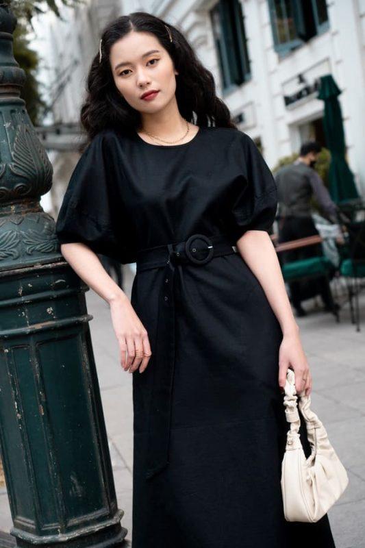 váy Am đen mẫu